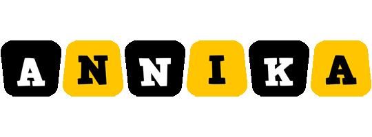 Annika boots logo
