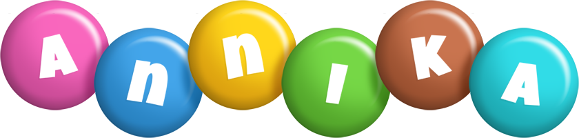Annika candy logo