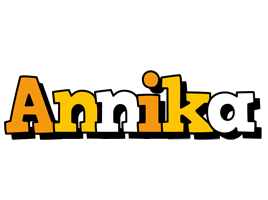 Annika cartoon logo