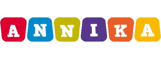 Annika daycare logo
