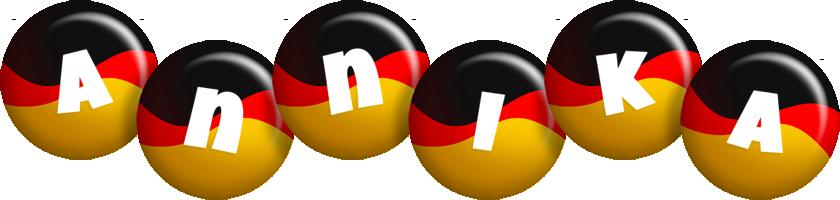 Annika german logo
