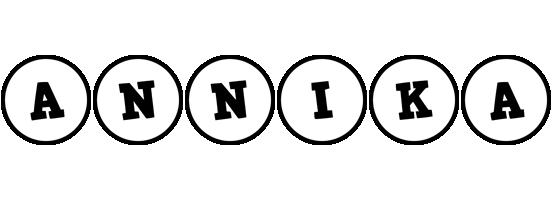 Annika handy logo