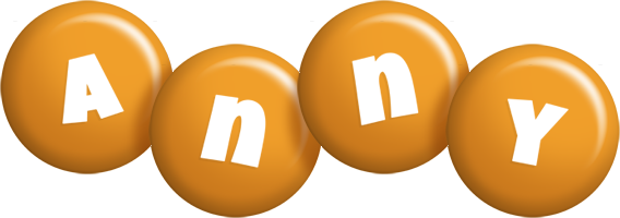 Anny candy-orange logo