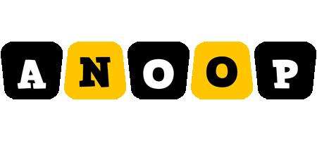 Anoop boots logo