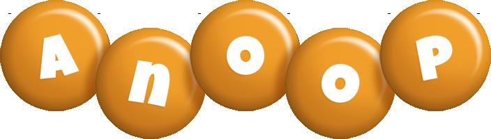 Anoop candy-orange logo
