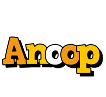 Anoop cartoon logo