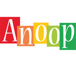 Anoop colors logo