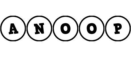 Anoop handy logo