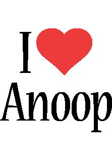 Anoop i-love logo