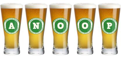Anoop lager logo