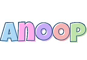 Anoop pastel logo