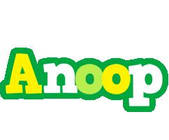 Anoop soccer logo