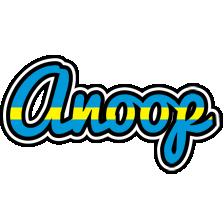 Anoop sweden logo