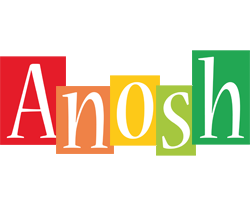 Anosh colors logo