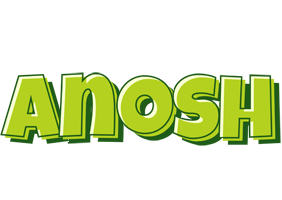 Anosh summer logo