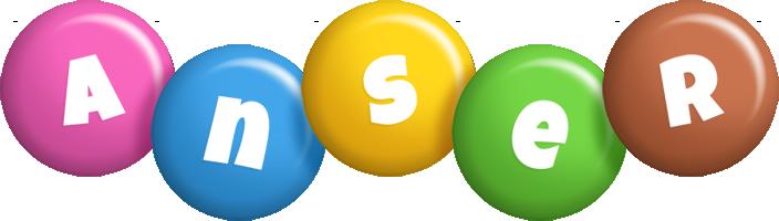 Anser candy logo