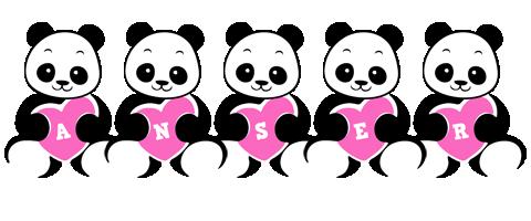 Anser love-panda logo