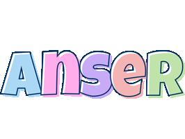 Anser pastel logo