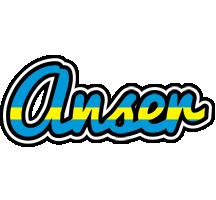 Anser sweden logo