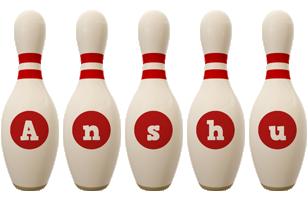 Anshu bowling-pin logo