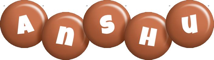 Anshu candy-brown logo