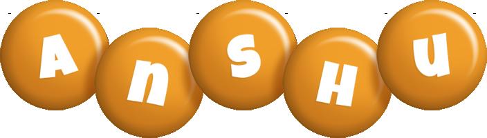 Anshu candy-orange logo