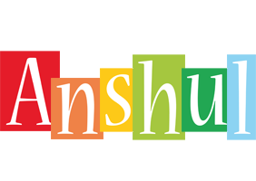 Anshul colors logo