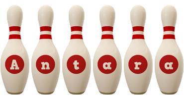 Antara bowling-pin logo
