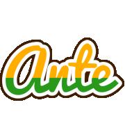 Ante banana logo
