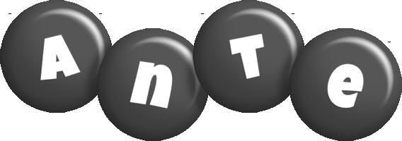 Ante candy-black logo