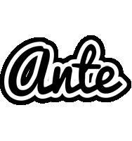 Ante chess logo