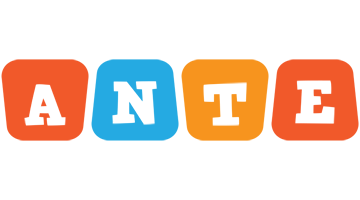 Ante comics logo