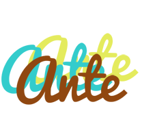 Ante cupcake logo