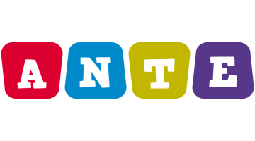 Ante daycare logo