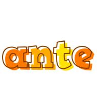 Ante desert logo
