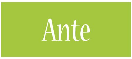 Ante family logo