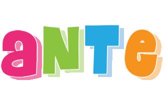 Ante friday logo
