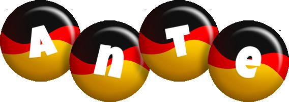 Ante german logo