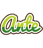 Ante golfing logo