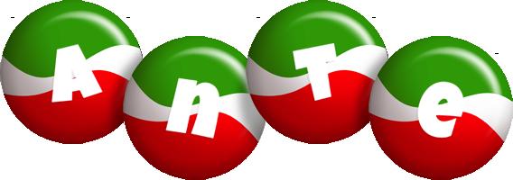 Ante italy logo