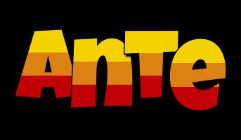 Ante jungle logo