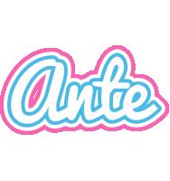 Ante outdoors logo