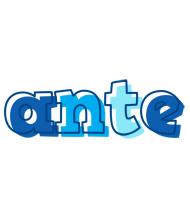 Ante sailor logo