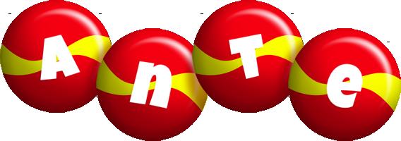 Ante spain logo