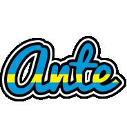 Ante sweden logo