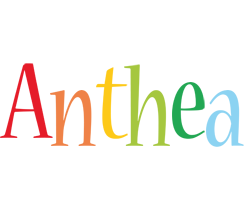 Anthea birthday logo