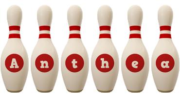 Anthea bowling-pin logo