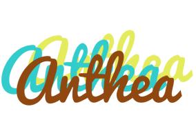 Anthea cupcake logo