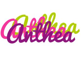 Anthea flowers logo