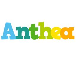 Anthea rainbows logo